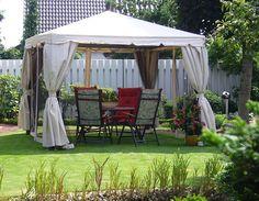 Благоустройство двора частного дома. 20 идей как украсить двор. | Частный Дом
