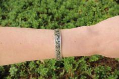 Thin filigree adjustable cuff $7.95 USD  #boho #gypsy #bohojewelry #hippiejewlery #gypsyjewelry