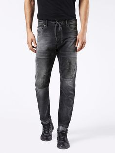 Discover Diesel Narrot JoggJeans Shop the original collection on our Official Online Store. Jogg Jeans, Diesel Jeans, Grey Jeans, Pants, Shopping, Collection, Fashion, Grey Jeans Outfit, Trouser Pants
