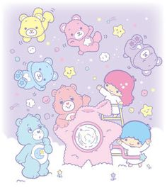 【KIKI&LALA x Care Bears】★Little Twin Stars★