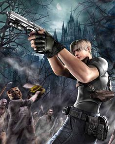 Resident Evil 4 was actually the first resident evil game I ever played, and i liked it a whole lot!!!
