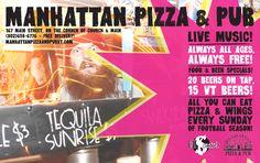 Manhattan Pizza & Pub // Thread Magazine Supporter // Burlington, VT