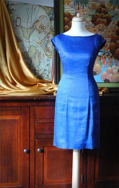 Blue dress classic