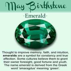 May Birthstone // History, Meaning, & Lore