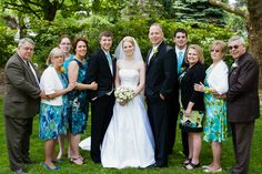 The bride and her family!