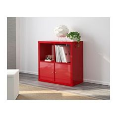 Kallax tag re ultrabrillant rouge ikea 50 deco for Rayonnage modulaire ikea