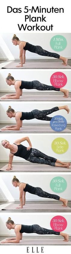 5 minute plank workout | Posted By: CustomWeightLossProgram.com