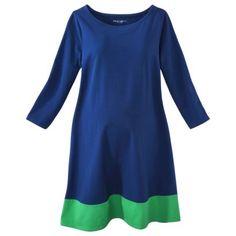 f85710d02ec Liz Lange® for Target® Maternity 3 4-Sleeve Shirt Dress - Assorted