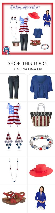 """Independence Day BBQ and Celebration"" by audkoppe on Polyvore featuring Simply Vera, WearAll, Cappelli Straworld, Kim Rogers, Peter Grimm, ara and AB Studio"