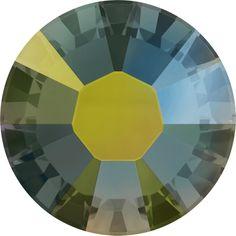 SWAROVSKI 2038 Hot Fix Rhinestones 10ss Crystal Iridescent Green. http://www.dreamtimecreations.com/product/32709/swarovski-2038-hot-fix-rhinestones-10ss-crystal-iridescent-green/  See the SWAROVSKI ELEMENTS Fall/Winter 2014/2015 Launch here: http://www.dreamtimecreations.com/category/1780/new-swarovski-elements/swarovski-elements-fallwinter-20142015/