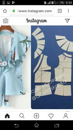 Brilliant Tips Sewing Pattern Ideas Dress Sewing Patterns, Blouse Patterns, Clothing Patterns, Fashion Sewing, Diy Fashion, Ideias Fashion, Sleeves Designs For Dresses, Sleeve Designs, Sewing Clothes