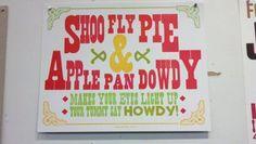 Shoo Fly Pie...