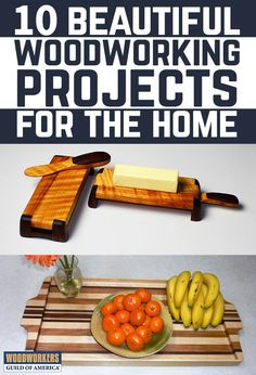 In this project guide, you will find instructions for ten of our favorite home woodworking projects, all curated by Woodworkers Guild of America contributing editors. These handcrafted items will be sure to complement any home style and make excellent gift ideas.