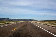 Tramo ruta 66 USA en Arizona