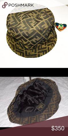 6fa129699fa Fendi Zucca Print Bucket Hat New without tags Size small Fendi Accessories  Hats