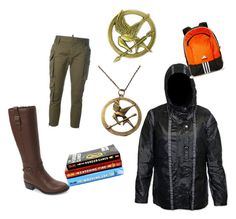 Katniss Everdeen by mjbol on Polyvore featuring polyvore fashion style Dsquared2 Cole Haan adidas clothing