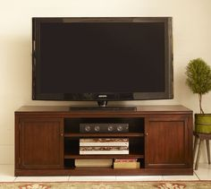 Logan Large TV Stand | Pottery Barn