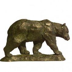 Corbin Bronze Sculpture Bear