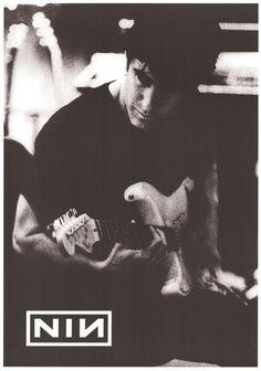 #Nine Inch Nails | Trent Reznor guitar