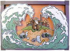 Moses red sea Picture & other Miracles in the Bible Bible Crafts For Kids, Bible Study For Kids, Preschool Bible, Bible Activities, Bible Story Crafts, Toddler Sunday School, Sunday School Activities, Sunday School Lessons, Sunday School Crafts