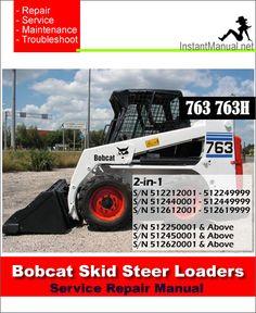 63 Best Bobcat Skid Steer Loader Service Manual PDF images