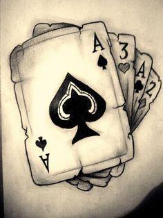 Acab Tattoo, Poker Tattoo, Leg Tattoos, Body Art Tattoos, Small Tattoos, Sleeve Tattoos, Tattoos For Guys, White Tattoos, Tiny Tattoo