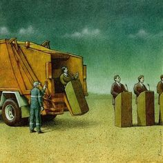 Polish artist Pawel Kuczynski has worked in satirical illustration since specializing in thought-provoking images that make his audience question their everyday lives. Satire, Sketch Manga, Terence Mckenna, Satirical Illustrations, Satirical Cartoons, What Is An Artist, Social Art, Social Media, Political Art