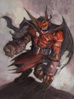 Etrigan the Demon by Steve Ellis