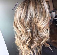 Layered Lob, Blonde Balayage, Hair Inspiration, Hair Beauty, Long Hair Styles, My Style, Hairstyles, Hair Makeup, Haircuts