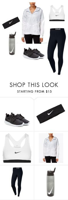 """""""active"""" by ariel-1017 on Polyvore featuring NIKE"""