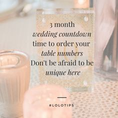Wedding, Wedding Countdown, Wedding Planning, Wedding Countdown Tips, Wedding Signage, Wedding ToDo, Place Cards, Table Numbers, Escort Cards, Sweet Monday Photography