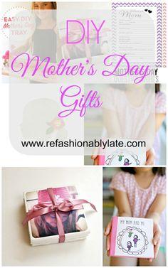 DIY Mother's Day Gifts www.refashionablylate.com l #MothersDay2016