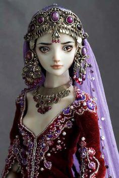 DesertRose,;,The Doll Art:)...Marina Bychkova, Musetouch.,;,
