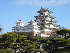 Замок Белой Цапли. Япония