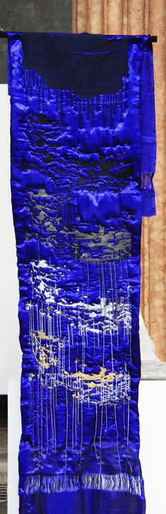 A Prayer To Go-l-d Price: POA Size: x Exhibition: Available Before 1990 Mongolia was an uninterrupted land of a thousand plateaus. Contemporary Embroidery, Prayers, To Go, Pocket, Artist, Artists, Prayer, Beans, Bag