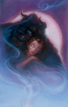 Bittersweet Embrace: By John Alvin  I have wanted this painting ever since I first saw it for sale at the Disney Marketplace years ago<3