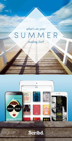 Join Scribd and you won't have to go to the beach to enjoy this summer's hottest reads. Access the best books, audiobooks and more for $8.99/month.