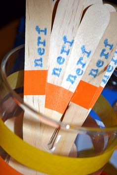 Nerf Birthday Party Ideas | Photo 20 of 62 | Catch My Party
