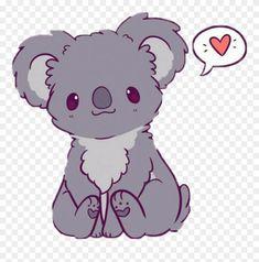 Kawaii Cute Easy Drawings Of Koalas Clipart (#3215548) - PinClipart