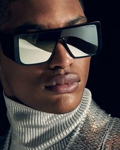 Bold Atticus Sunglasses from the TOM FORD AW18 Campaign. Photographed by  Adam Katz Sinding. 1cc7bcda87
