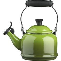Le Creuset® Spinach Teakettle in Teapots, Teakettles   Crate and Barrel