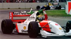You will never know the feeling of a driver when winning a race. The helmet hides feelings that cannot be understood. Ayrton Senna