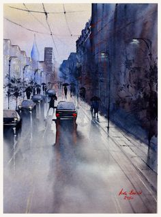 The street in Lodz  Aneta Kmiecik