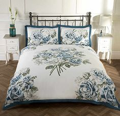 Flower Design Bedspread Comforter Quilted Throw Fits Double Bed Size 195 X 229cm Delicious In Taste Bedding
