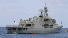 Having problems Scott Morrison?  The HMAS Ballarat tried to turn a boat carrying 56 suspected asylum seekers back to Indonesia before the wooden vessel's engine failed. http://www.smh.com.au/federal-politics/political-news/midocean-standoff-as-australian-customs-vessel-tries-to-turn-back-asylum-seeker-boat-to-indonesia-20131107-2x4qs.html