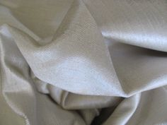 "VELVET COTTON 57"" Wide X 3 Yards NEW Beautiful Beige Taupe Pillows Crafts Fabric"