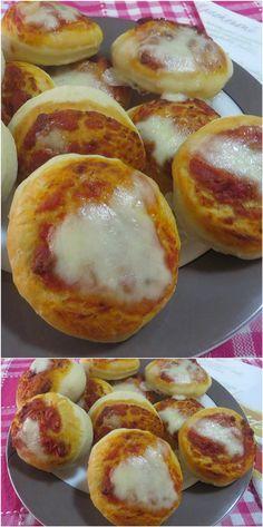Pizzette rosse, un classico sempre buonissimo! #pizzette #pomodoro #ricettegustose