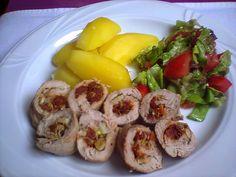 Agi Kuchnia Smaku: POLĘDWICZKI WIEPRZOWEZ SUSZONYMI POMIDORAMI  0,5k...