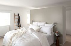 Tuesday Tips - Adding walls - Hege in France Decor, Modern Bedroom, Bedroom Inspirations, Home Bedroom, Bedroom Interior, House Design, Chic Bedroom, Peaceful Bedroom, House Interior