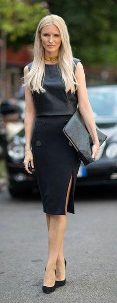Milan Fashion Week, Spring 2014. Street Style. via Harpers Bazaar.